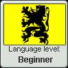 Flemish language level: Beginner by Eva1777