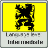 Flemish language level: Intermediate by Eva1777