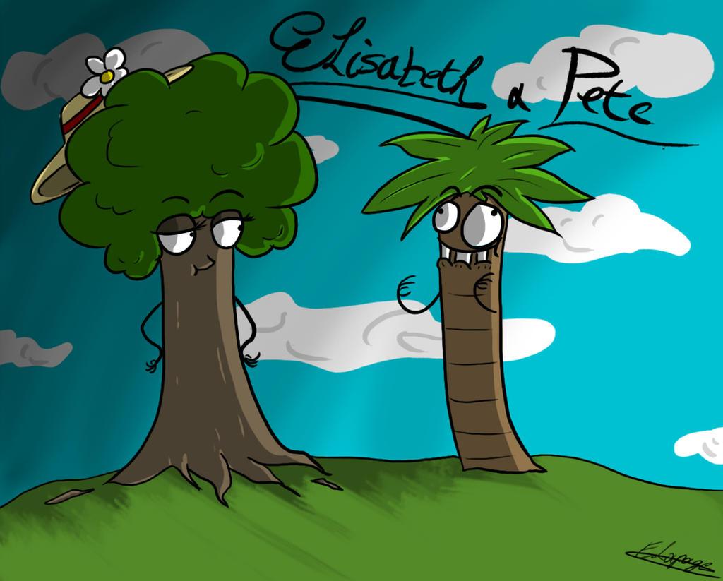 Elisabeth and Pete by Eva1777