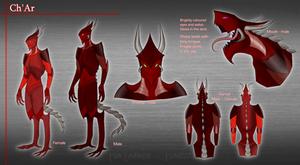 Ch'Ar - Species Sheet by Andromeva