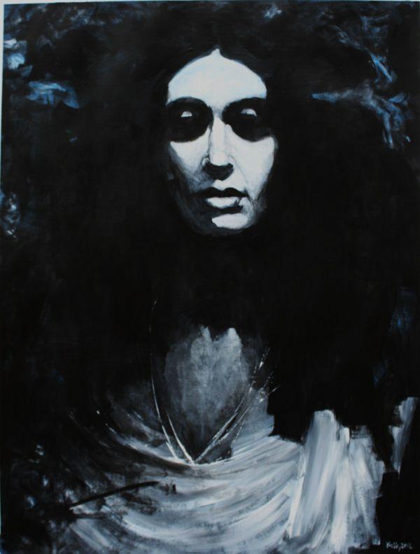 Portrait Of A Deity by chalk42002