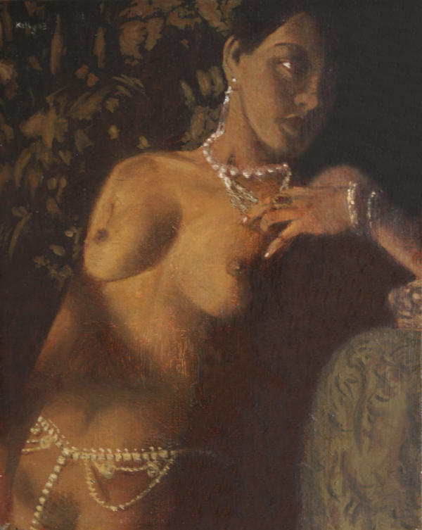 Nude With Pearls by chalk42002