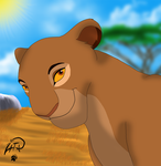Sarabi Portrait