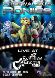 Przewalski's Ponies at Everfree Encore 2018 by CheetagonZita
