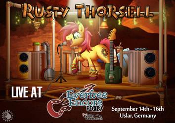Rusty Thorsell at Everfree Encore 2018 by CheetagonZita