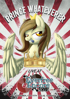 Prince Whateverer at Everfree Encore 2019