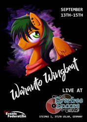 Waranto Wingbeat at Everfree Encore 2019