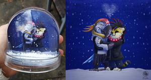Keeping You Warm - Snow Globe