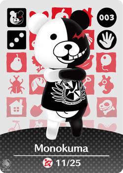 Amiibo Card - Monokuma