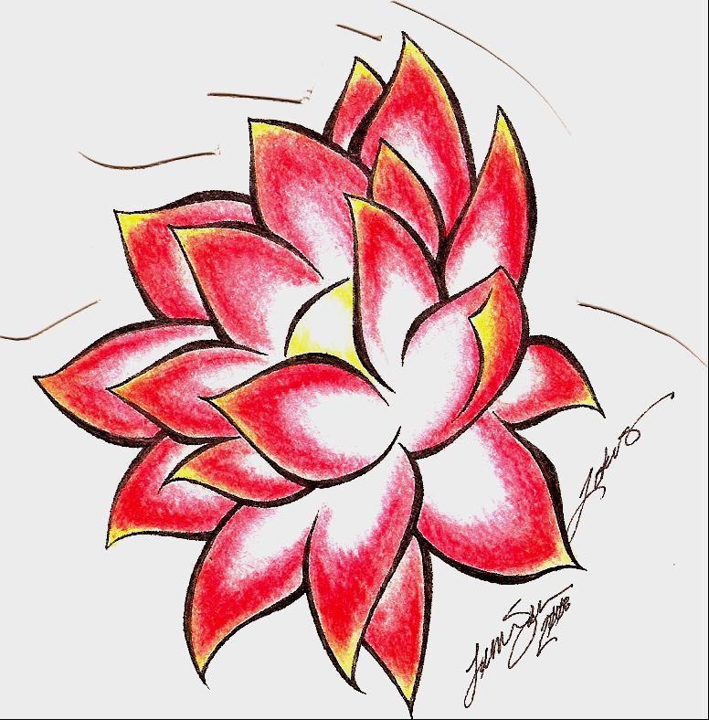 Lotus Tattoo Design By Bloodyluna On Deviantart