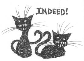 More Indeed Cats... eep. by tainteh