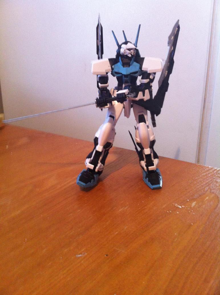 Gundam Astray Mirage IV by DarthDizzle