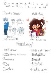 new commission sheet wow