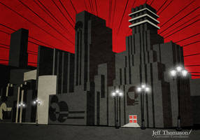 Art Deco City by SkyFitsJeff