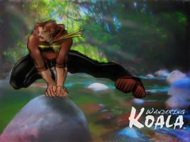 Wandering Koala Leapfrogging by SkyFitsJeff