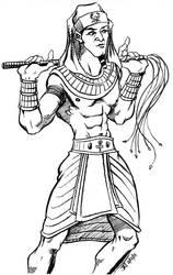 Character Sketch - Egyptian Prince