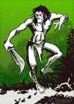 Character Sketch: Jungle Dance