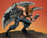 Character Sketch: Hawkman