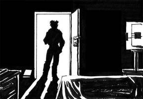 Entering the Room by SkyFitsJeff