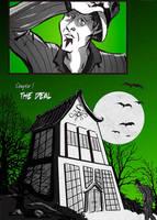 Entering the Strange House by SkyFitsJeff