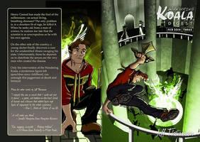Cover to Wandering Koala Digest 3 by SkyFitsJeff