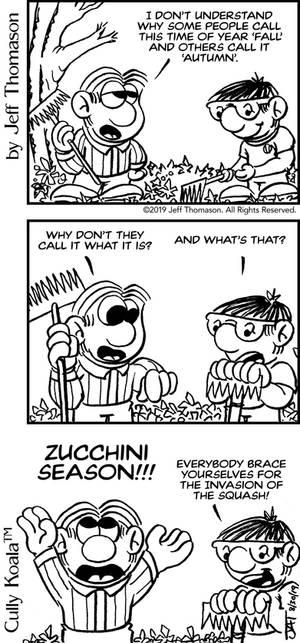 Zucchini Season comic