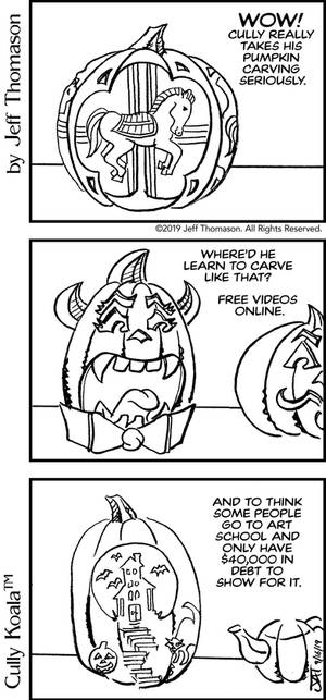 Student Debt comic