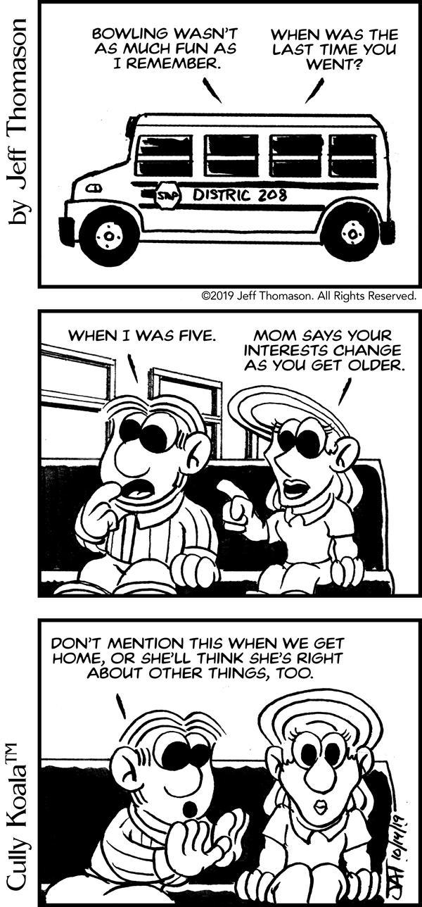 Comic - Don't Tell Mom!