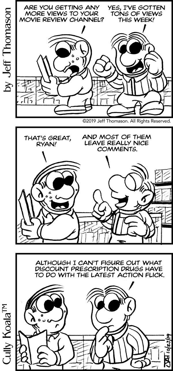 Comic - Spam on a Blog