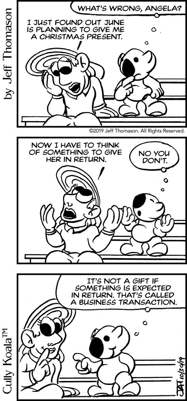 Comic - Gift Reciprocation
