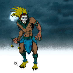 Witch Doctor Moonlight Dance