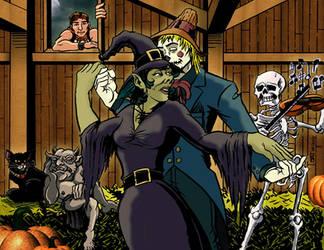 A Ghoulish Barn Dance