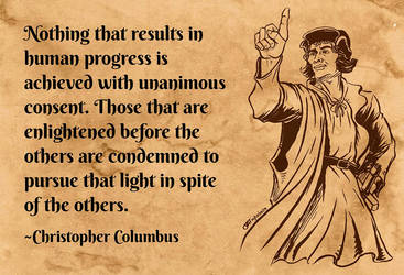 Nothing That Results In Progress Is Unanimous