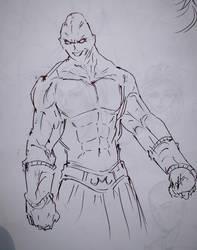 Majin Buu (Old Sketch)