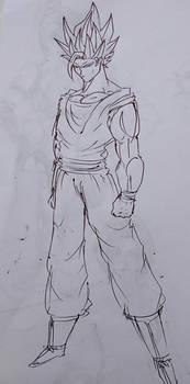 Kakarott SSJ2 (Old Sketch)