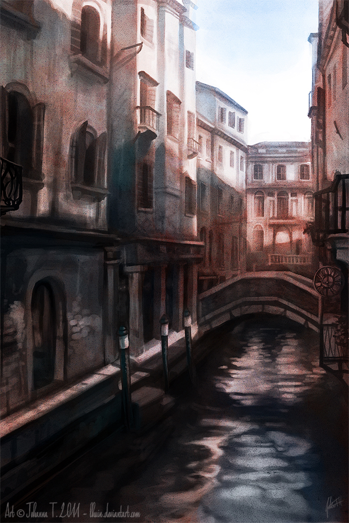City of Water by Lhuin