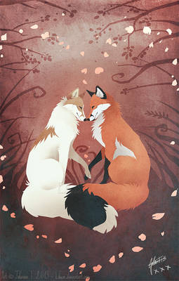 Valentine's Foxes