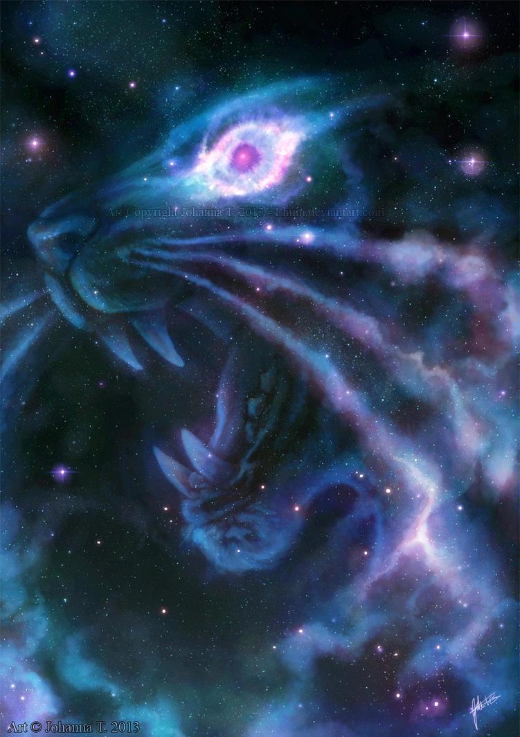 Helix Nebula by Lhuin