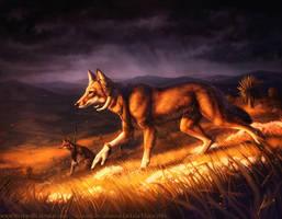 On the Prowl - Werewolf Calendar