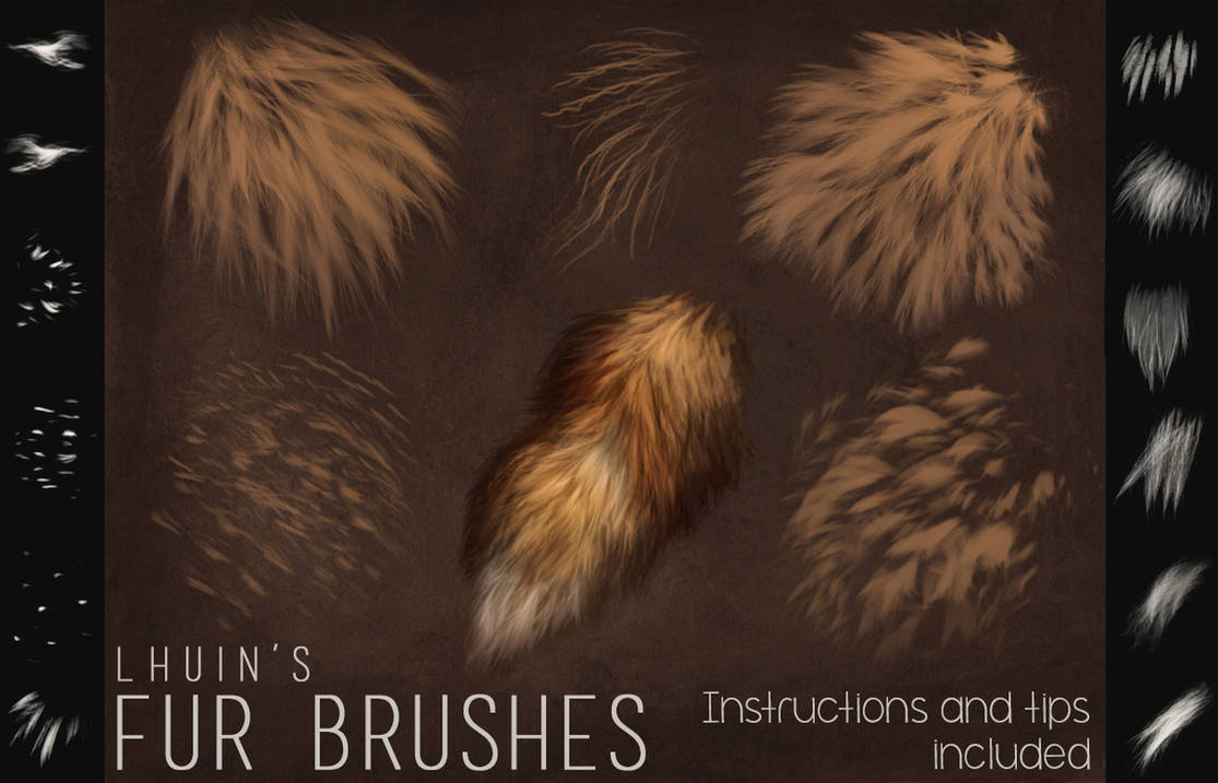 Fur Brushes for Photoshop