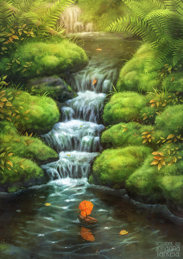 Little Stream by Lhuin