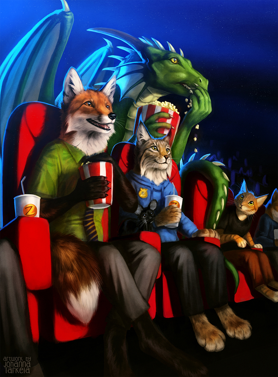 Zootopia Screening by Lhuin
