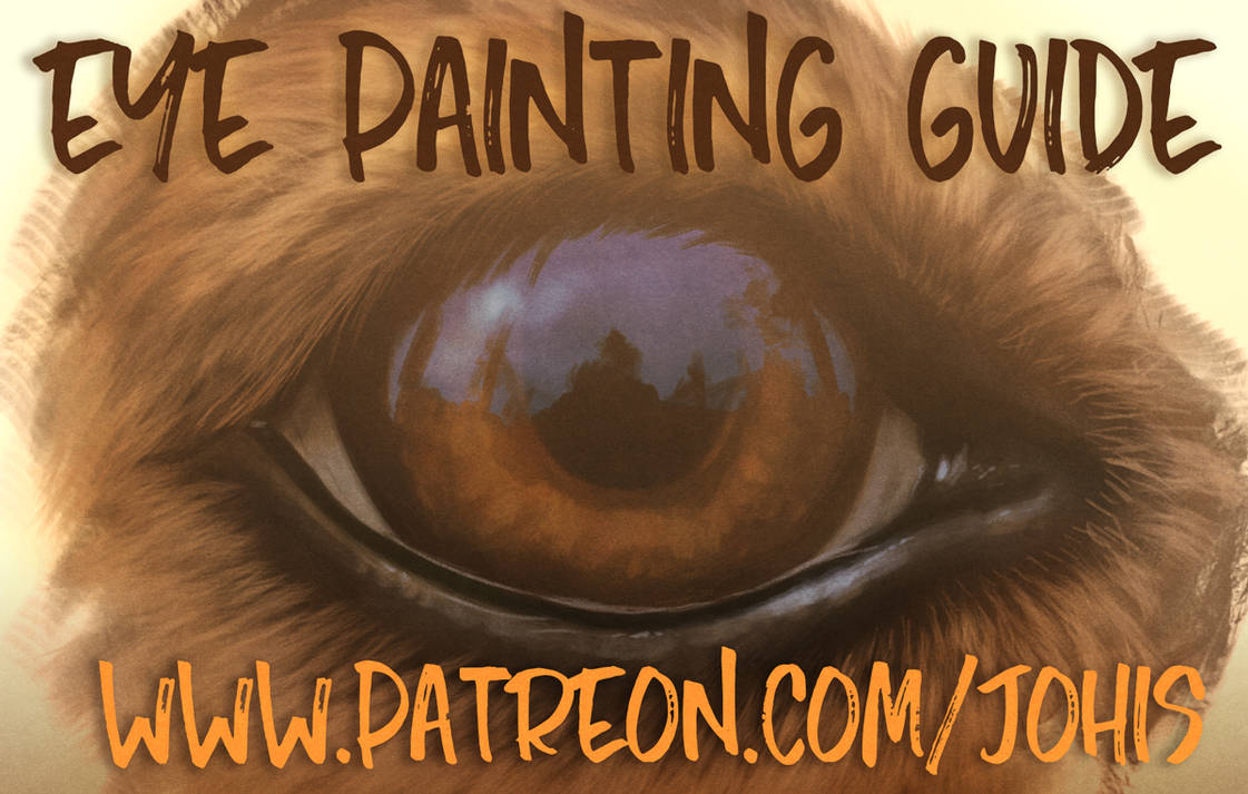 Eye painting guide by Lhuin