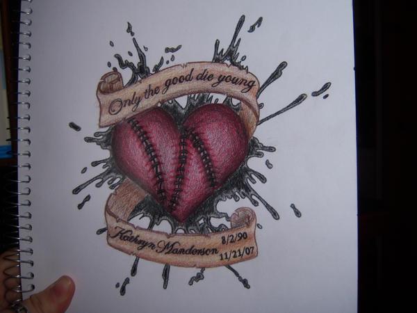 memorial heart tattoo by selene16 on deviantart