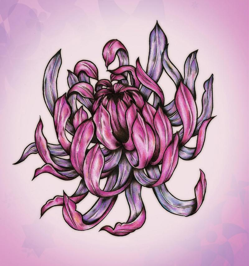 chrysanthemum by blacksilence92 on deviantart. Black Bedroom Furniture Sets. Home Design Ideas