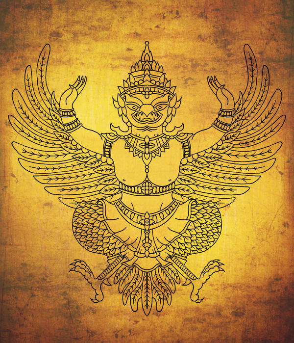 garuda tibetan tattoo design by blacksilence92 on deviantart. Black Bedroom Furniture Sets. Home Design Ideas