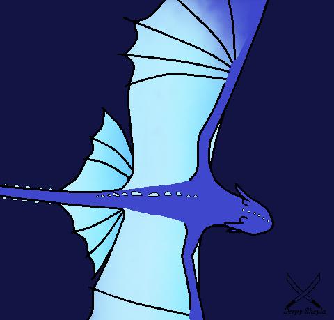 Flight of FrostNight by ImDerpySheyla