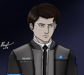 DBH: Connor by Peazil