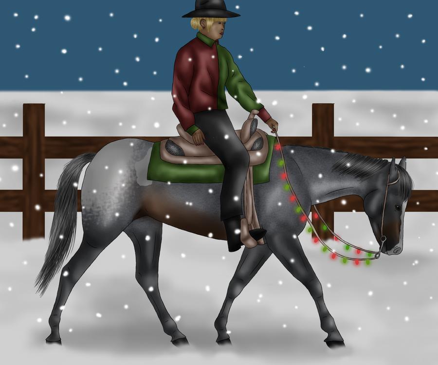 Walkin' In A Winter Wonderland by crazykate1