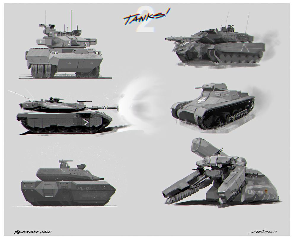 Tanks! 02 by strawbos